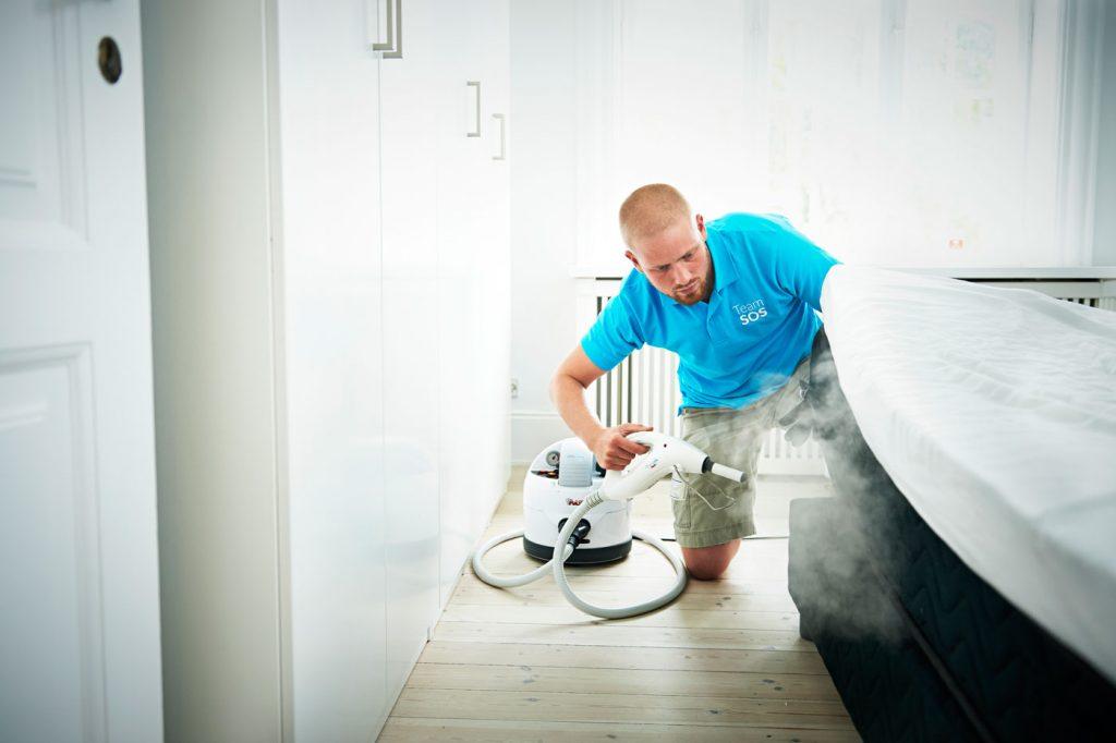 Vi tilbyder også varmebehandlinger mod væggelus – helt uden gift