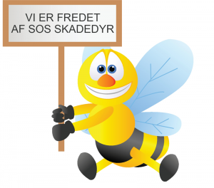 Hos SOS Skadedyr har vi fredet bierne!